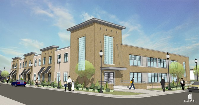 The Fayetteville planning board is in the process of looking over a proposal to turn the old Syracuse Plastics factory into a mixed-use building with both retail and commercial space.