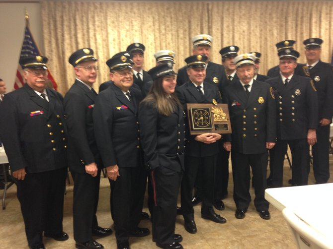 Bethlehem's first responders were honored Monday, March 3, at the annual Community Awards event presented by the Nathaniel Adams Blanchard American Legion Post 1040 in Bethlehem. The awards are given annually to members of the town's police, fire and EMS who showed exemplary service throughout the prior year.