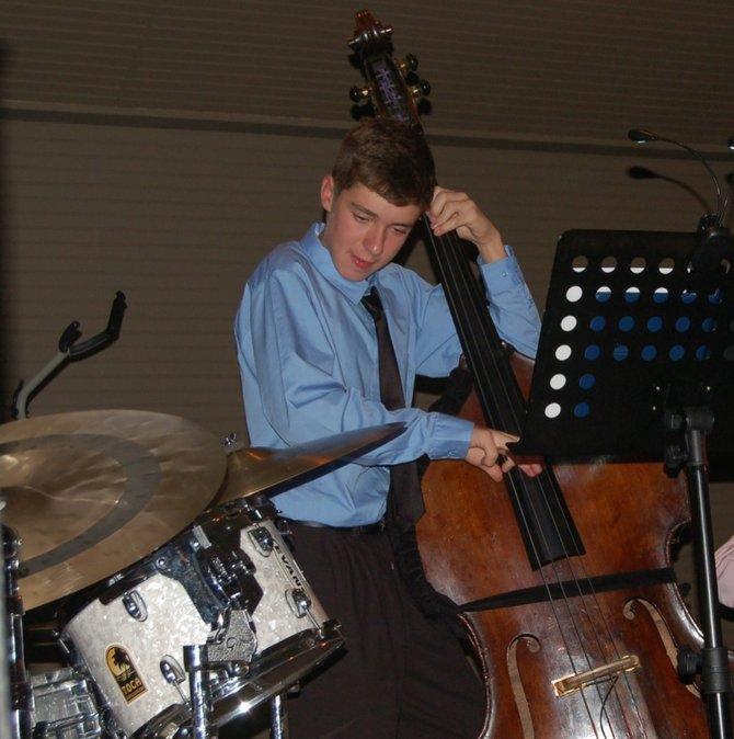 Jazz Festival participant Sam Smith, of Skaneateles.