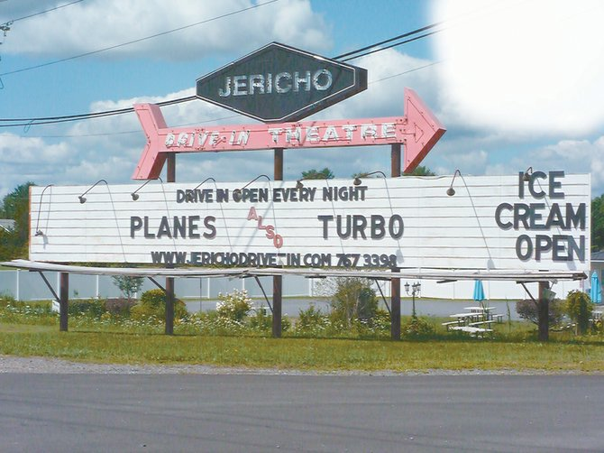 Jerico Drive-in owners Mike and Lisa Chenette are hoping a new fundraising campaign will raise the funds required to purchase new equipement and keep the drive-in open.