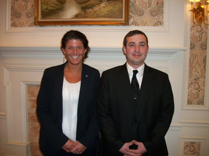 Kate Velasco and Kurt Benedict have joined the Schepp Family Funeral Homes as licensed funeral directors