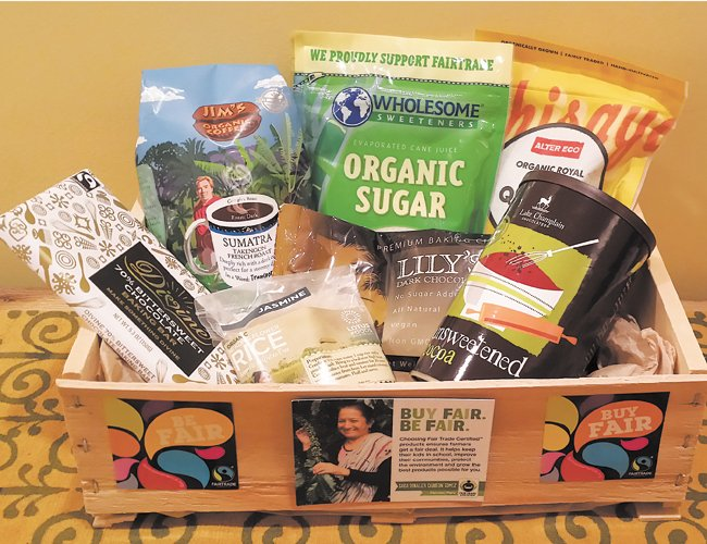 The winner of the May 10 Fair Trade Bake-off at the Bethlehem Public Library will receive a prize basket filled with fair trade ingredients.
