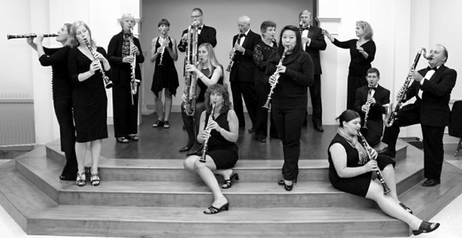 Silverwood Clarinet Choir plays a free concert at 7 p.m. Tuesday, May 20, at Temple Concord in Syracuse.