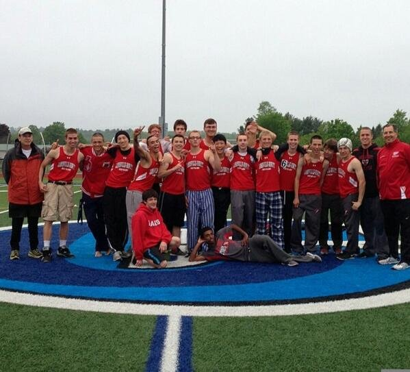 Jamesville-DeWitt's boys track and field team won the Section III Class A-1 championship Friday at Camden High School, holding off Indian River for that top spot as Dylan Volk (long jump, triple jump), Zach Liebmann (pole vault) and Patrick Dye (mile) all won individual events. J-D won both the boys and girls sectional A-1 team titles.