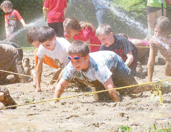 The fourth annual Tawasentha Mud Mania on Saturday, June 14, in the Town of Guilderland, is less about competition and more focused on fund than most traditional races. There will be several obstacles for participants to tackle through a muddy course, along with attractions at the event.