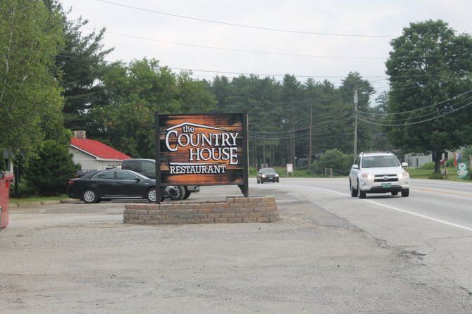 Site of the new Country House Restaurant along U.S. Route 7 in Pittsford. (Photo by Elicia  Mailhiot)