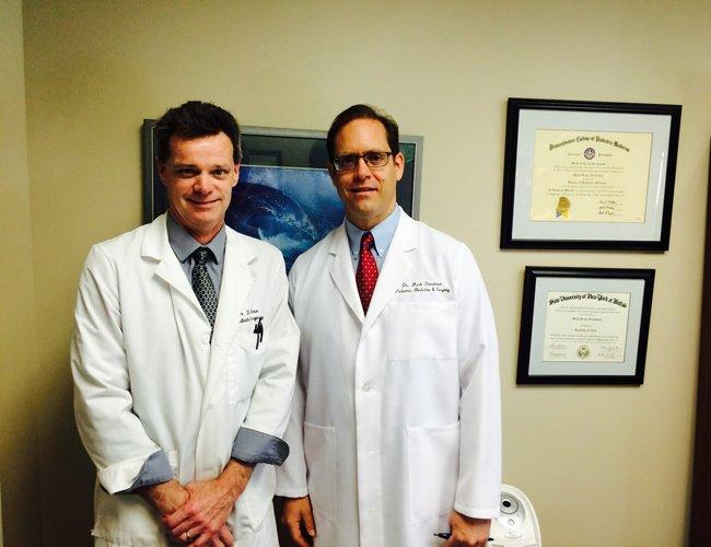 Drs. Doug Mason and Mark Friedman at Albany Podiatry can help with heel pain.