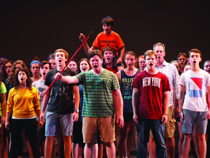 """For the first time ever, the town of Manlius will present """"Les Miserables"""" as its 2014 summer musical, with showings at 7 p.m. Thursday, July 24 through Saturday, July 26."""