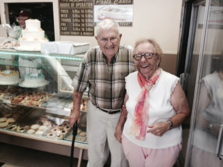 Married 68 years, Steve and Toni Halayko opened the Schuyler Bakery in Watervliet 60 years ago.