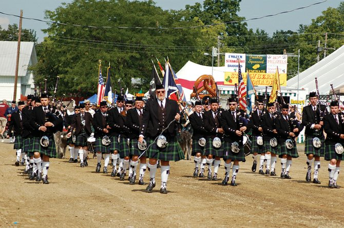 The Schenectady Pipe Band will kick off the festivities at the annual Scottish Games.