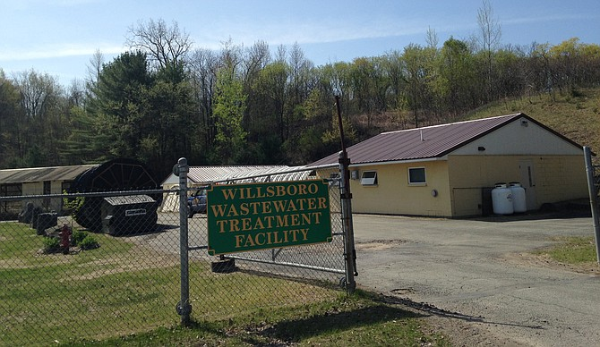 Willsboro Wastewater Treatment Plant (Source: Pete Demola, Valley News, May 14, 2015)