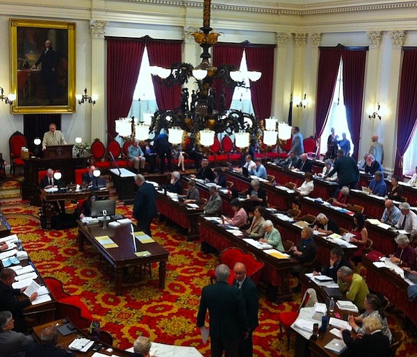 The Vermont State Senate gave preliminary approval to the Healthy Workplaces bill (H.187) on Feb. 2 with a voice vote. (Bruce Parker photo)