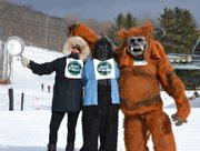 Gore Mountain Ski Center held its annual Restaurant Week Races Monday, Jan. 30 in North Creek. Here is a sampler of the skiing and the lively cheerleaders.